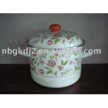 Porcelain Enamel Food Steamer Cooker