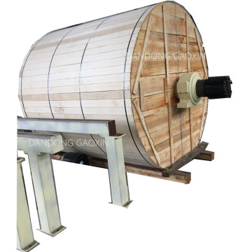 Yankee para maquinaria de fabricación de productos de papel