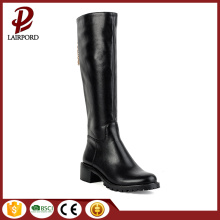 hot sale black elegant women half boots