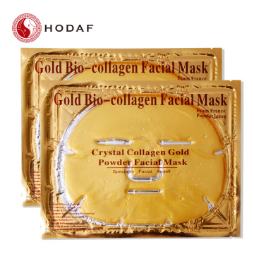 collagène de haute qualité masque facial d'or hydratant
