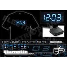 [Super Deal]Wholesale fashion hot sale T-shirt A5,el t-shirt,led t-shirt