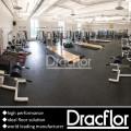Plancher de gymnastique en PVC haute performance pour Fitness Club