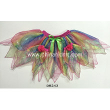 Mixed Colours Anomaly Half Skirt