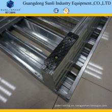 Paleta de acero galvanizado tamaño estándar inoxidable de 1.5 t 1200X1000