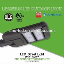 Цена по прейскуранту завода высокая эффективность 120w светодиодный уличный светильник с UL DLC утвержден
