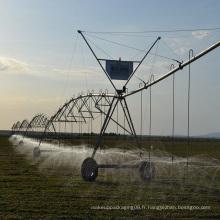 système d'irrigation à pivot central à énergie solaire avec pompe