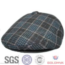 Men′s Plaid Wool Earl Flap IVY Cap