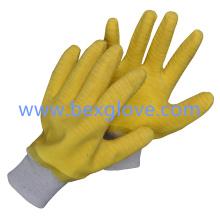 Baumwoll-Latex-Handschuh
