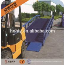 10 Tonnen Gabelstapler Mobiles Laden Stahl Yard Rampe zum Verkauf
