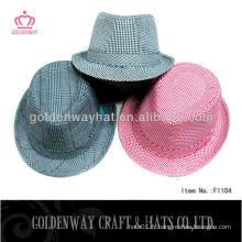 Chapeau fedora à rayures chapeau Kids Fedora