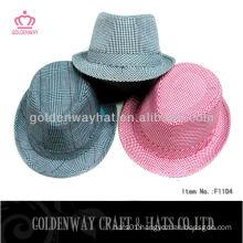 Striped fedora hat Kids Fedora hat