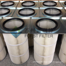FORST Latest Design Square Flange Shot Blasting Dust Collector Filters Cartridge