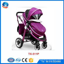 China baby stroller manufacturer wholesale high quality new model baby stroller baby pram tricycle, baby stroller for twins
