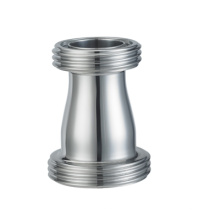 Acero inoxidable 304 316L Sanitary Union-Type Reductor