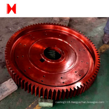 High precision casting spur gear