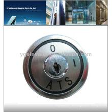 Aufzug Schlüsselschalter km747076g10, Kone Aufzug Schalter