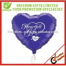 Publicidad de globos de papel de aluminio