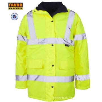 Hohen Vis schützen wasserdichte Oxford Jacket