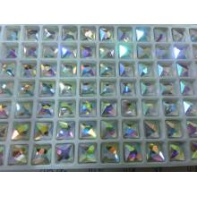 Square Ab Color Hot Fix Rhinestones