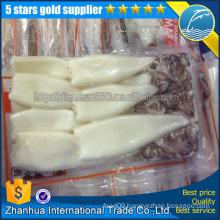 Loligo Japanese argentina squid T+T,frozen squid tube &tentacle