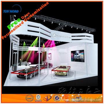 10 'x 10' Aluminium Ausstellung Fachwerk Display, kleine Fachwerkständer in Shanghai Original supplier000916 hergestellt