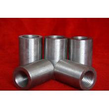 45# festem Kohlenstoff Stahl Rebar Gewindehülse (14-40mm) - Fabrik