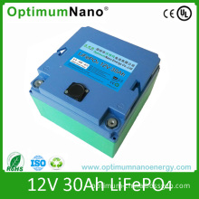 12V 30ah LiFePO4 Battery for E-Scooter Starting Battery