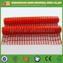 Orange Plastic Safety Net Fencing
