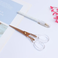 Acrylic Rose Gold Scissor