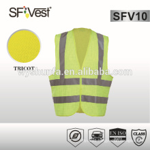 anti-static fr vest , high quality work vest ,100% polyester tricot fabric conform to EN ISO 20471