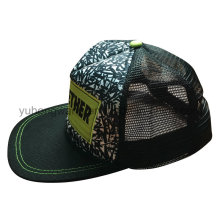 Mesh Baseball Cap, Sports Snapback Hat with Embroidery