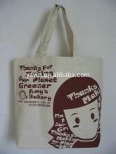 Alibaba China Ladies Beautifully Printed Cotton Canvas Tote Bag