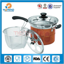 multi-purpose stainless steel cooking pots/pasta cooking pot
