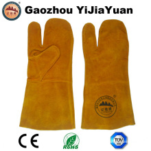 Kevlar Stiching Leather Protective Safety Welding Gloves