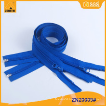 Nylon Zipper Open End Plastic Bottom Stop 5# Zippers ZN20009