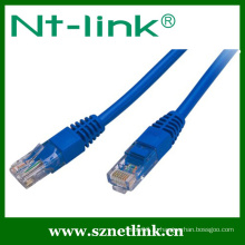Серый цвет Быстрое соединение UTP Cat5e Patch Cable 1Meter