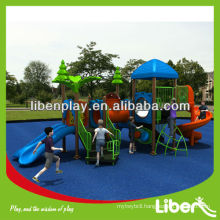 Liben 2014 New School Playground Equipment LE.ZI.012 Residential Park Playground design for sale with novel design