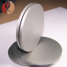 Approvisionnement d'usine Meilleure Qualité ASTM B381 6AL4V GR5 DIA1000 * 100mm Plaque Rond Titane