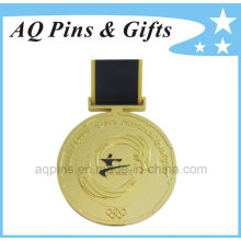 Custom Medals with H Shape Ribbon for Olympic Game