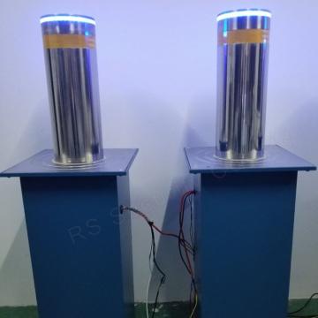 Hotel Entrance Control Automatic Hydraulic Rising Bollard