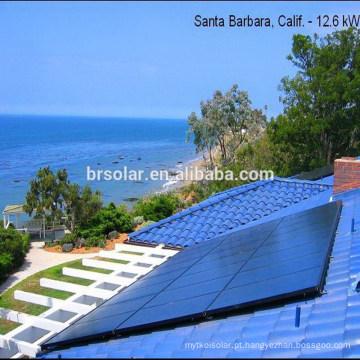 Painéis solares polis para grandes projetos e usina