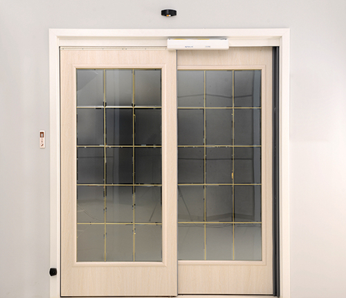 Homeuse Automatic Sliding Doors with Double Active Leafs