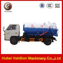 Dongfeng Marke 4X2 LHD / Rhd 6cbm Abwassertankwagen