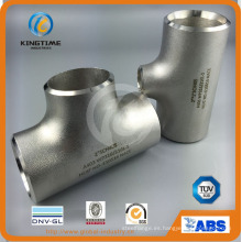 De calidad superior Butt Welded Fitting Wp316 / 316L Ss Igual Tee con TUV (KT0251)