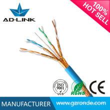 Cable vendedor caliente de las redes de las ventas 22awg FTP Cat7 / Ethernet