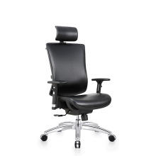 High back swivel ergonomic executive leather office chair