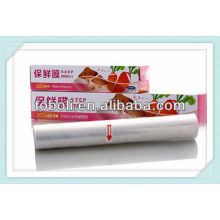 Película de embalagem de grau alimentar com cortador