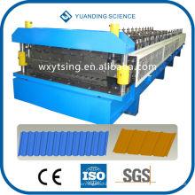 YTSING-YD-0373-1Pass CE & ISO-Authentifizierung Automatische Rollenform Metalldachmaschine