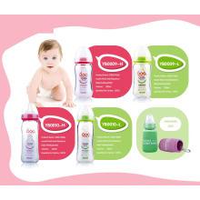 Neutrales Borosilikatglas Baby Babyflasche