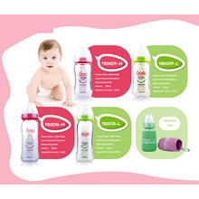 Neutral Borosilicate Glass Baby Feeding Bottle